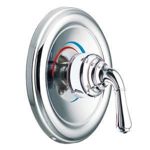 Moen T3132 Monticello Moentrol Single Handle Tub/Shower Valve Trim Chrome