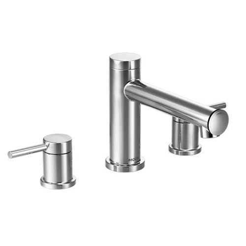 Moen T393 Align Two Handle Non Diverter Roman Tub Faucet