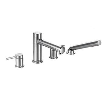 Moen T394 Align Two Handle Diverter Roman Tub Faucet Includes Hand Shower C