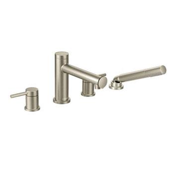 Moen T394BN Align Two Handle Diverter Roman Tub Faucet Includes Hand Shower