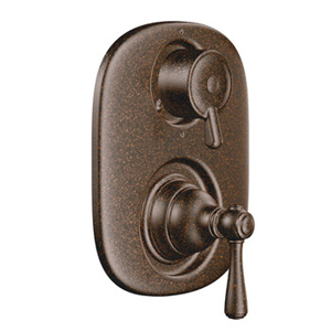 Moen T4111ORB Kingsley Moentrol Shower Valve with Built-in Three Function Transfer Valve Trim - Oil Rubbed Bronze