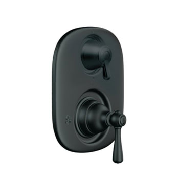 Moen T4111WR Kingsley Moentrol Shower Valve with Built-in Three Function Transfer Valve Trim - Wrought Iron