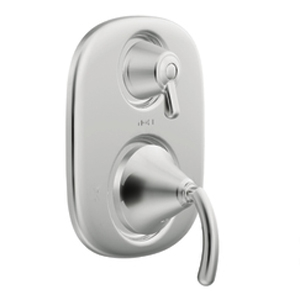 Moen TS4112 Icon Moentrol(R) Shower Valve with Built-in Three Function Transfer Valve Trim Chrome