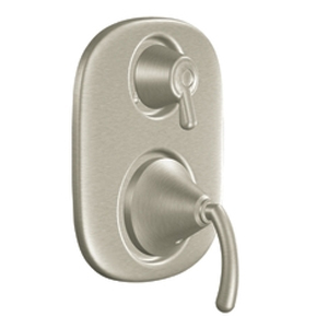 Moen TS4112BN Icon Moentrol(R) Shower Valve with Built-in Three Function Transfer Valve Trim Brushed Nickel