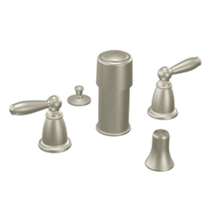 Moen T5225BN Brantford Bidet Faucet Trim Brushed Nickel