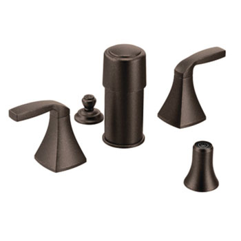 Moen T5269ORB Voss Two Handle Bidet Faucet - Oil Rubbed Bronze
