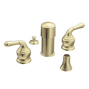 Moen T5270P Monticello Bidet Faucet Trim Polished Brass