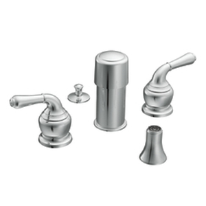 Moen T5270ST Monticello Bidet Faucet Trim Satine (Pictured in Chrome)
