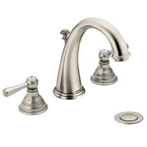 Moen T6125AN Kingsley Two-Handle Widespread Lavatory Faucet Trim - Antique Nickel