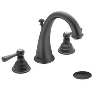 Moen T6125WR Kingsley Two-Handle Widespread Lavatory Faucet Trim - Wrought Iron