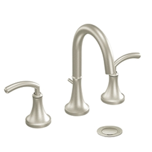 Moen TS6520BN Icon Two-Hanlde Widespread Lavatory Faucet Trim Brushed Nickel