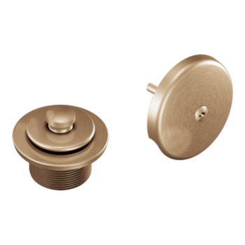 Moen T90331BB Tub/Shower Drain Cover - Brushed Bronze