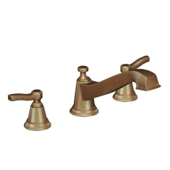 Moen TS923AZ Rothbury Two-Handle Roman Tub Faucet Trim Antique Bronze