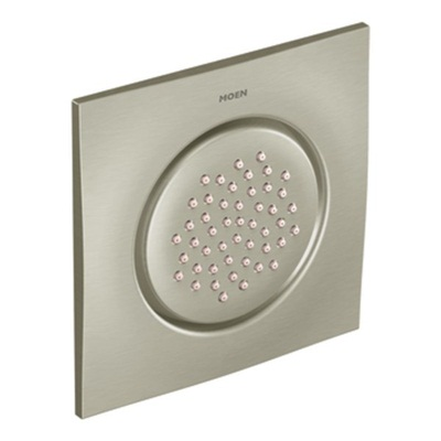 Moen TS1320BN Single Function Flush Mounted Body Spray - Brushed Nickel