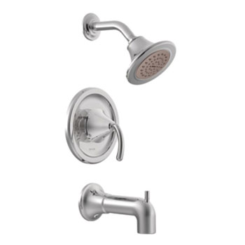 Moen TS2143EP Icon PosiTemp Eco Performance Tub/Shower Trim - Chrome