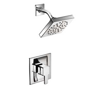 Moen TS2712EP 90 Degree PosiTemp Eco Performance Shower Trim - Chrome