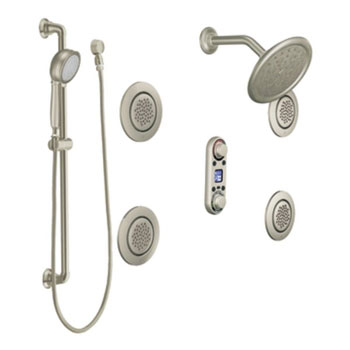 Moen TS296BN ioDIGITAL Vertical Spa Trim - Brushed Nickel