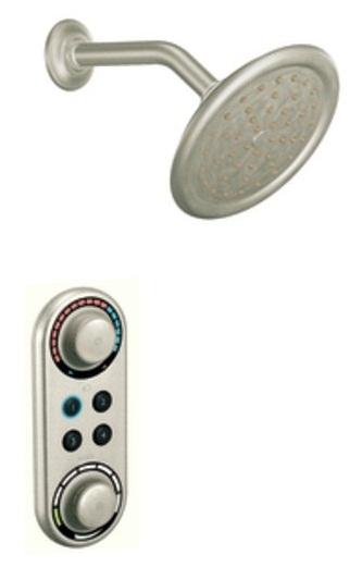 Moen Ts3405bn Iodigital Double Handle Shower Valve Trim With