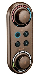 Moen TS3415ORB ioDIGITAL Double Handle Thermostatic Valve Trim Only with Digital Controls - Oil Rubbed Bronze