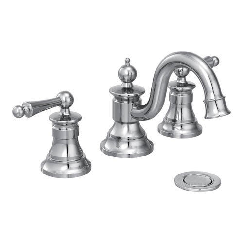 moen showhouse ts418 waterhill two handle widespread