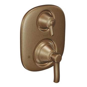 Moen TS4211AZ Rothbury Moentrol Shower Valve with Three Function Transfer Valve Trim - Antique Bronze