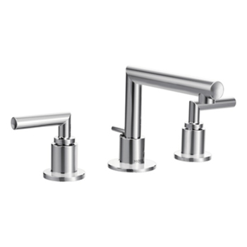 Moen TS43002 Arris Two Handle Widespread Lavatory Faucet Trim - Chrome