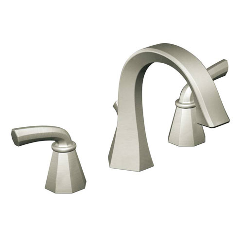 Moen ShowHouse TS448BN Felicity Two Handle Widespread Lavatory Faucet Trim Brushed Nickel