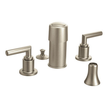 Moen TS52005BN Arris Two Handle Bidet Faucet Trim - Brushed Nickel