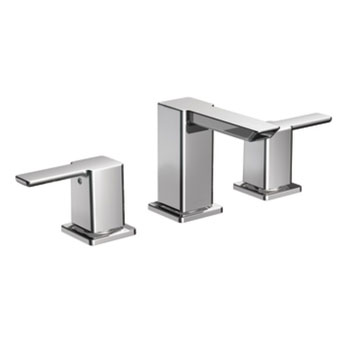 Moen TS6720 90 Degree Two Handle Widespread Lavatory Faucet Trim - Chrome