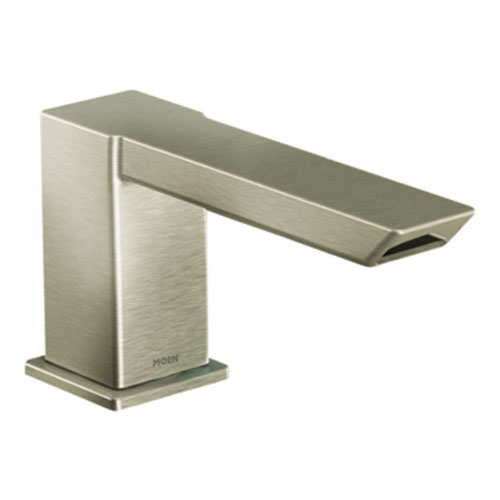 Moen TS9031BN 90 Degree Two-Handle Roman Tub Faucet Trim with ioDigital Technology - Brushed Nickel