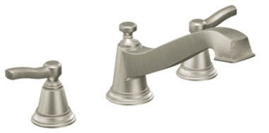 Moen TS923BN Rothbury Double Handle Roman Tub Filler Faucet - Brushed Nickel
