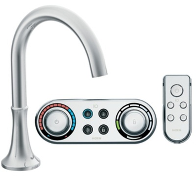Moen TS9621 Icon Electronic Roman Tub Filler Faucet - Chrome