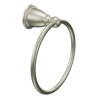 Moen YB2286BN Creative Specialties Brantford Towel Ring - Brushed Nickel