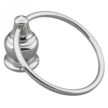 Moen YB4786CH Creative Specialties Decorator Towel Ring - Chrome