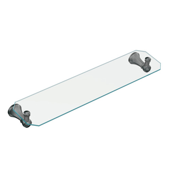 Moen YB5690PW Vestige Glass Shelf Pewter