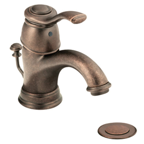 Moen 6102ORB Kingsley Single-Handle Centerset Lavatory Faucet Oil Rubbed Bronze