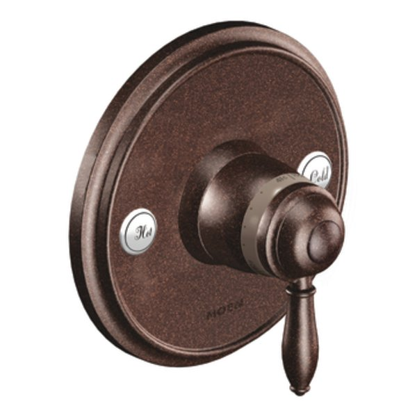 Moen TS32110ORB Weymouth Single Handle ExactTemp Thermostatic Valve Trim - Oil Rubbed Bronze