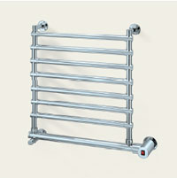 Mr Steam W562BN Wallmount Electric Heated Towel Warmer - Brushed Nickel (Pictured in Polished Chrome)