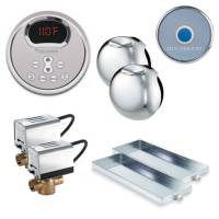 Mr. Steam MS Butler 2RD-PC - Butler Package 2 with Round Control - Polished Chrome