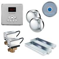 Mr. Steam MS Butler 2SQ-PC - Butler Package 2 with Square Control - Polished Chrome