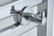 Mr. Steam RHOOK-W Robe Hook - White (Pictured in Polished Chrome)