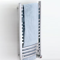 Mr. Steam W240-PC Wallmount Electric Towel Warmer  - Polished Chrome
