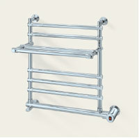 Mr. Steam W552BN Wallmount Electric Towel Warmer - Brushed Nickel (Pictured in Polished Chrome)