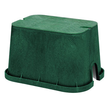 Nds 114bc 14 X 19 Box With Overlapping Bolt Down Cover