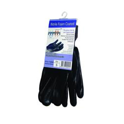 NiTex P-200BK-L Foam Coated Glove Large - Black