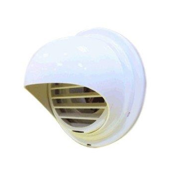 Noritz PVT-HL Plastic Hood Termination for PVC and CPVC Venting 3 and 4-Inch Diameter