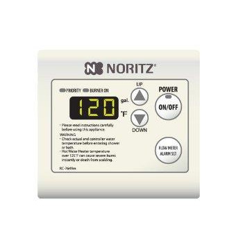 Noritz RC-7651M Remote Controller Fahrenheit and Celsius