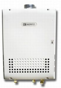 Noritz NR111-SV-LP Indoor/Outdoor Liquid Propane Residential Tankless Water Heater (N-0931M)