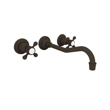 Newport Brass 3-944/10B Wall-Mounted Lavatory Faucet - Oil Rubbed Bronze