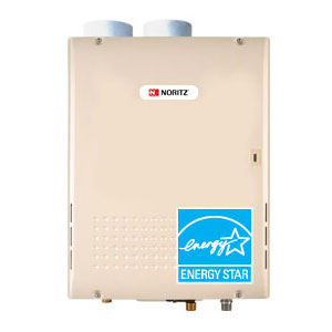 Noritz NRC98-DV-NG Indoor Direct Vent 9.8 Gpm Natural Gas Condensing Tankless Water Heater